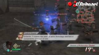 Vídeo análisis / review Samurai Warriors 3 - Wii