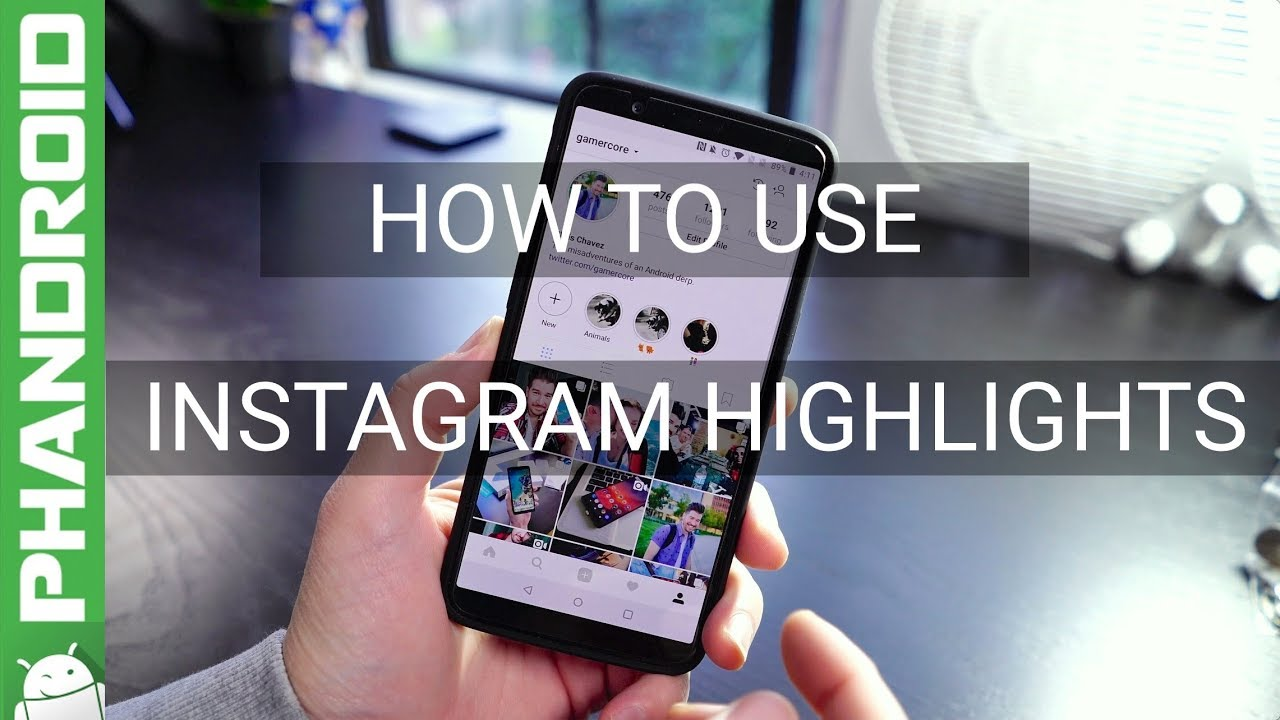 How to use instagram highlights youtube how to use instagram highlights ccuart Gallery