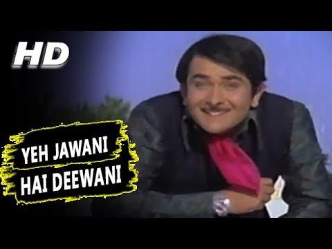 Yeh Jawani Hai Deewani |Kishore Kumar | Jawani Diwani 1972 Songs | Randhir Kapoor, Jaya Bachchan