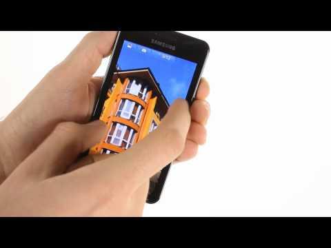 Samsung I9103 Galaxy R user interface demo