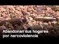 Abandonan hogares por narco - Narco - En Punto con Denise Maerker