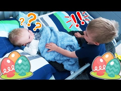 BIG BROTHER EASTER MORNING SURPRISE WAKE UP CALL!