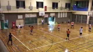 港川中学校 バスケ 一般 2016.7.7 ⑦
