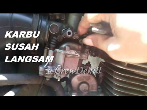 Karburator Megapro Susah Langsam Manifold Karbu Bocor