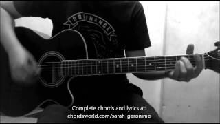 Tayo Chords by Sarah Geronimo - How To Play - chordsworld.com