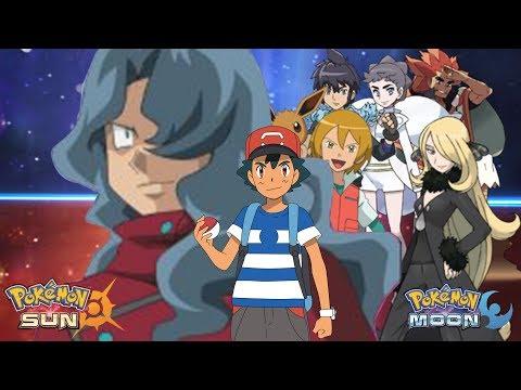Pokemon Sun and Moon: Ash Vs Diantha, Cynthia, Alain, Virgil, Tobias and Alder