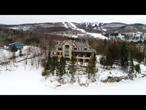 10 Million Dollar Mont Tremblant Luxury Chalet - Sotheby's Quebec