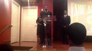 Benjamin Sings FAMU Alma Mater