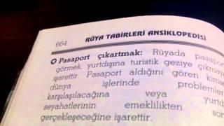 Rüyada Pasaport