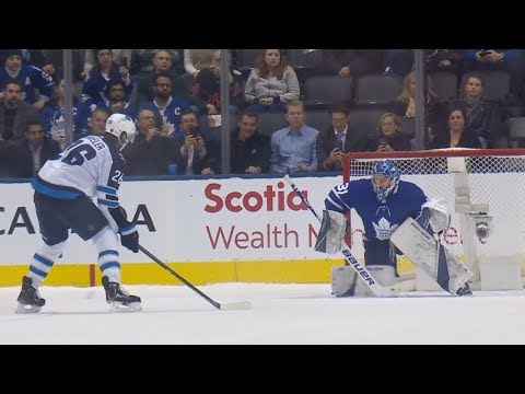 Jets, Maple Leafs Battle In Star-studded Shootout