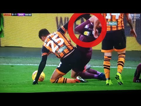 ⚽️😲 HULL CITY 2ND HALF MADNESS VS SWANSEA CITY(GOALS AND INCIDENTS)⚽️