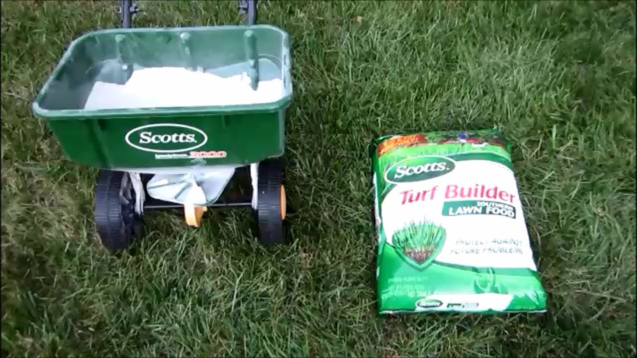 Scotts Fall Fertilizing First Mowing After 8 Days Of Rain With Troy
