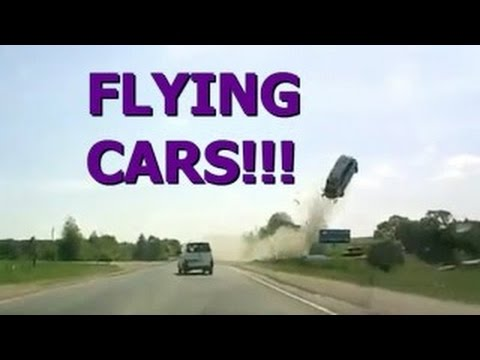 Flying Cars! || Ultimate Dash Cam Fails Compilation