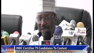 2019 General Elections: INEC Urges Voters To Scrutinize Candidates' Credentials