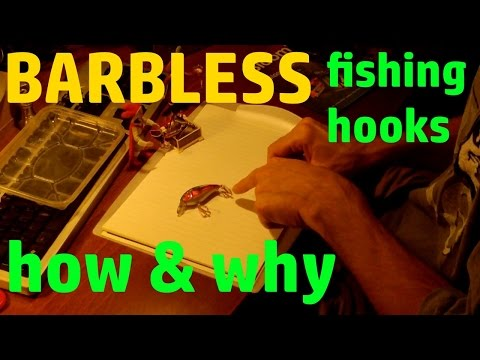 Barbless Fishing Hooks - Why And How To Make Them - Fishing Life Hack