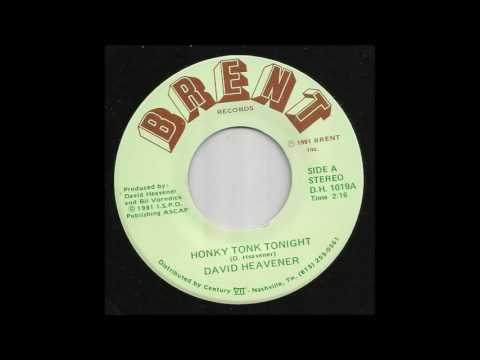 David Heavener - Honky Tonk Tonight