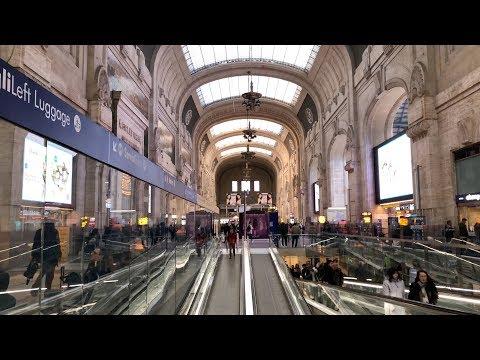 Malpensa Express Train 🚆 to Milan Central Station (Milano Centrale)