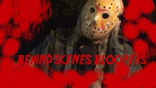 Friday the 13th behind scenes bloopers