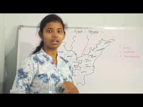 Geography in Telugu - Krishna River+