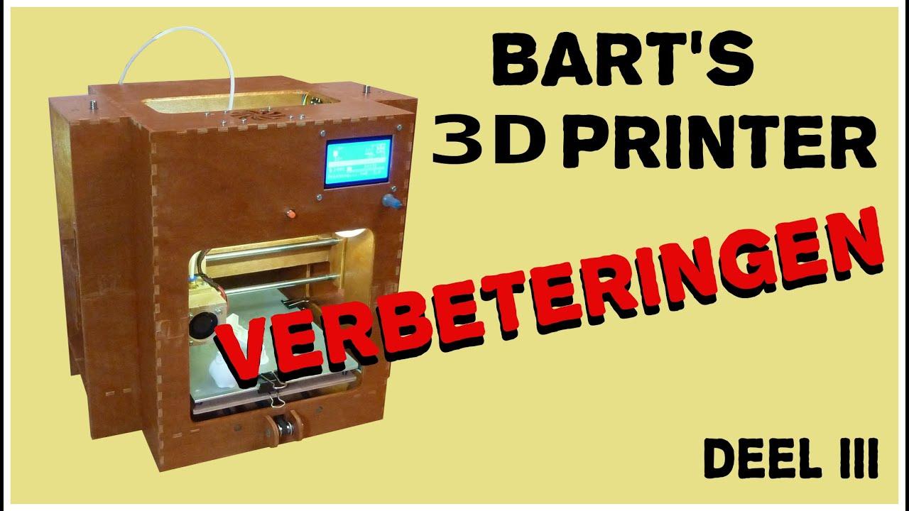 Verbeteringen aan de 3D Printer - YouTube