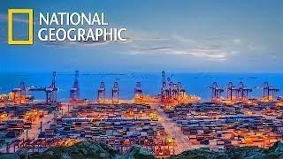 """Суперсооружения """"Глубоководный порт, гордость Китая"""" Документальные фильмы National Geographic HD"""