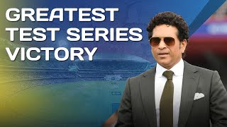 Sachin Tendulkar: This is the best Test series victory | 4th Test Australia V India | The Gabba