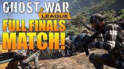 FULL GHOST WAR PRO LEAGUE FINALS MATCH! | HVT vs AMG | Ghost Recon Wildlands PVP