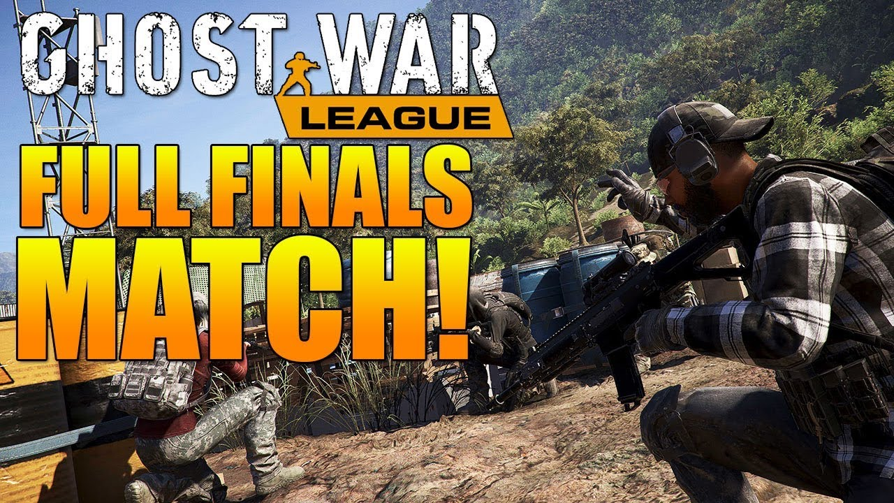 FULL GHOST WAR PRO LEAGUE FINALS MATCH! | HVT vs AMG | Ghost Recon Wildlands PVP