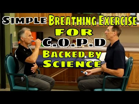 Simple Breathing Exercise for C.O.P.D Backed by Science