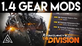 The Division | Amazing Performance Gear Mod Changes in Patch 1.4