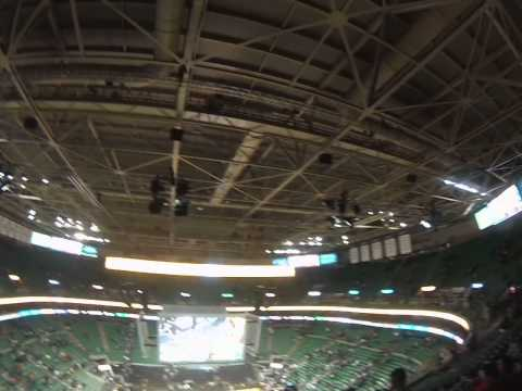View of EnergySolutions Arena