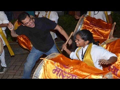 Salman Khan's GANPATI VISARJAN DANCE 2015...