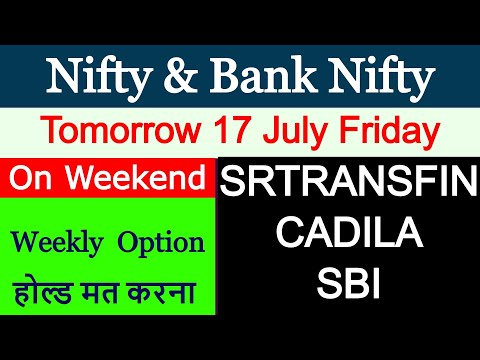 Nifty Analysis Tomorrow 17 July | Bank Nifty Levels | Intraday Strategy Trade Setup