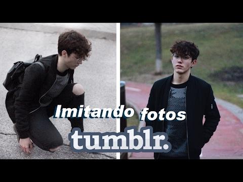 Imitando fotos TUMBLR CHICO