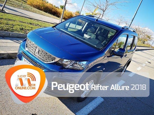 Peugeot Rifter 2018 / Al volante / Prueba dinámica / Review / Supermotoronline.com
