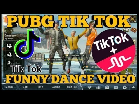 PUBG TIK TOK FUNNY DANCE AND FUNNY MOMENTS || BY PUBG FUN