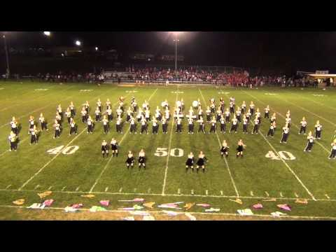 James A Garfield Marching Pride 9.26.14