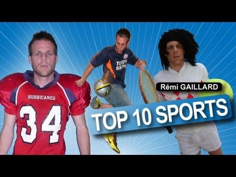 TOP 10 SPORTS (REMI GAILLARD)