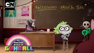 Gumball | Halloween Show & Tell | Cartoon Network