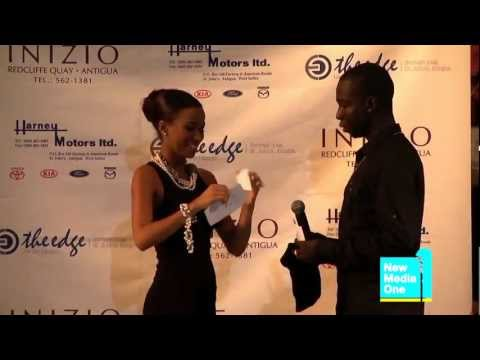 Antigua Carnival 2012- Queen of Carnival Competition,Interview Segment -Andrena Athill, Delegate #6