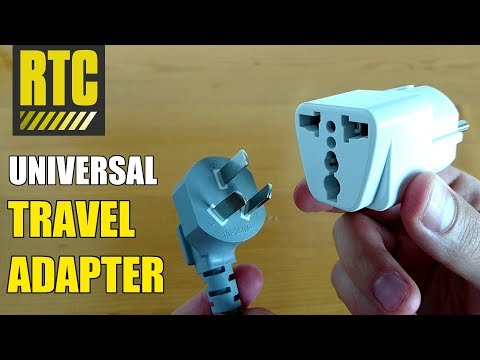 Universal Power Plug Travel Adapter For European Outlet From US UK And Australia