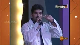 vijay singing  ennoda laila