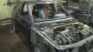 ВАЗ 2112 Реставрация и восстановление кузова.ч.3 Сборка и выдача клиенту