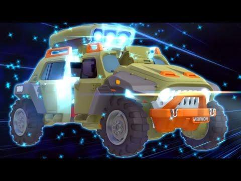 Тоботы - Гонки с Тоботами (сборник 3) (Мультики про машинки трансформеры) Трансформеры для детей