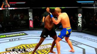 xbox games UFC 2014 EA Sports Jon Jones Dublado Xbox One - GAMEPLAY [ILLUMINATI GAMES]