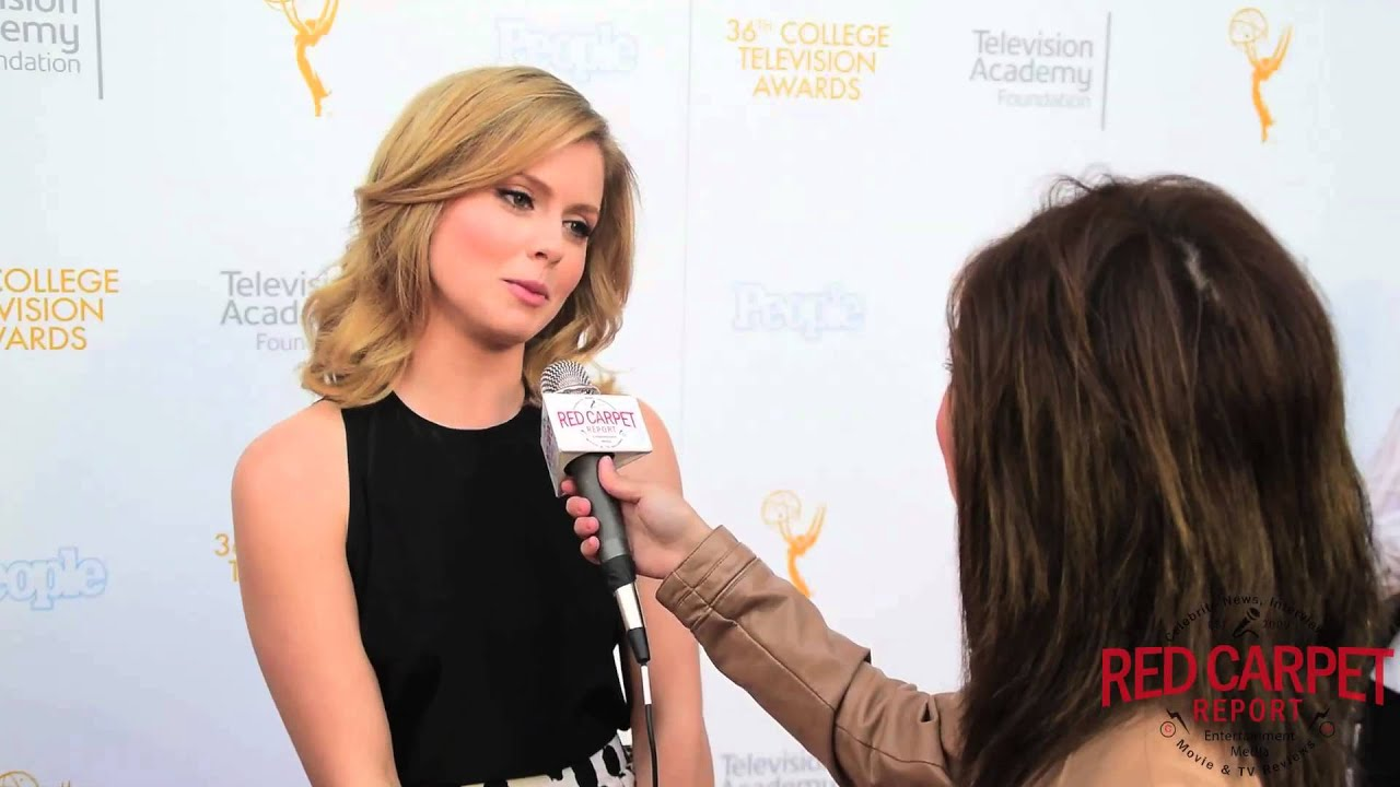 interview w/ rose mciver #izombie @ 36th college television awards