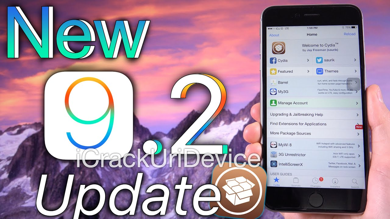 iOS 9.2 Jailbreak iOS 9 Update: Pangu \u0026 iOS 9.2 Release, New
