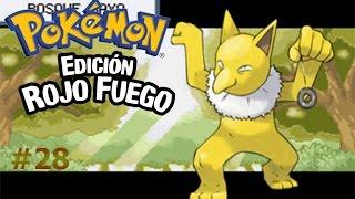 La búsqueda de Pedrita/Pokémon Rojo Fuego capítulo28