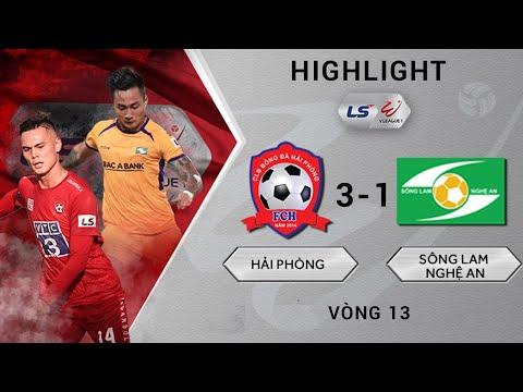 Hai Phong Song Lam Nghe An Goals And Highlights