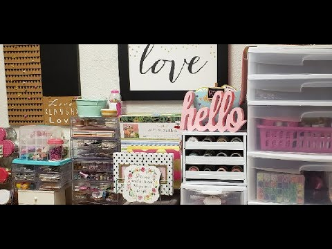 Dollar Tree Storage Organization & How I Use It In My Craftroom💖